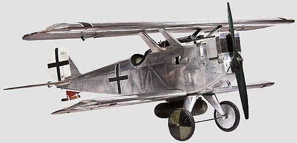 A flying model of a Dornier Zeppelin D-1