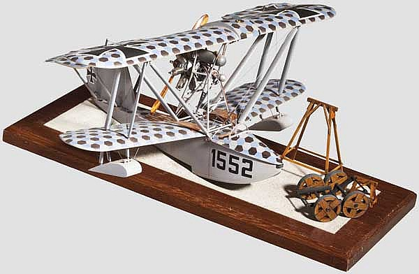 A Hansa-Brandenburg W.20 model