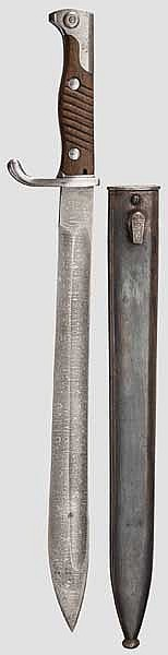 A bayonet M 98/05 in deluxe issue, about 1915
