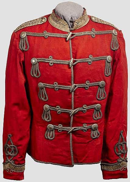 Imperial German Officer Prussian Hussar Parade tunic to the 3rd Regiment (von Zieten)
