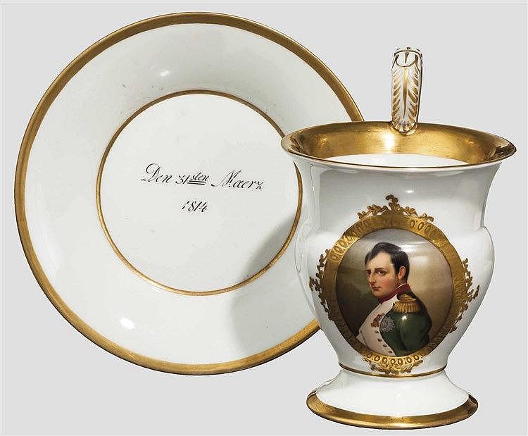 KPM Tasse - Napoleon Bonaparte