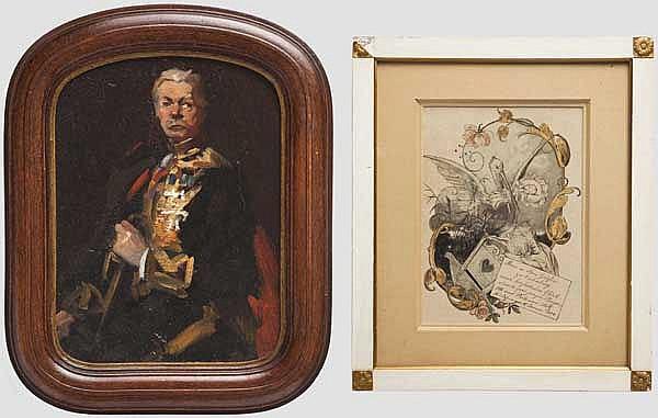 Philipp zu Eulenburg (1847 - 1921) - Glückwünsche zur Geburt seines Sohnes 1884