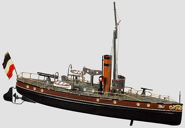 Dampfkanonenboot Pfeil der kaiserlichen Marine