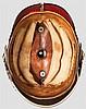 Helm für Generale mit Paradebusch, Trageweise 1902 bis 1913