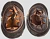 Zwei Helme M 1848 für Angehörige der Landwehrinfanterie