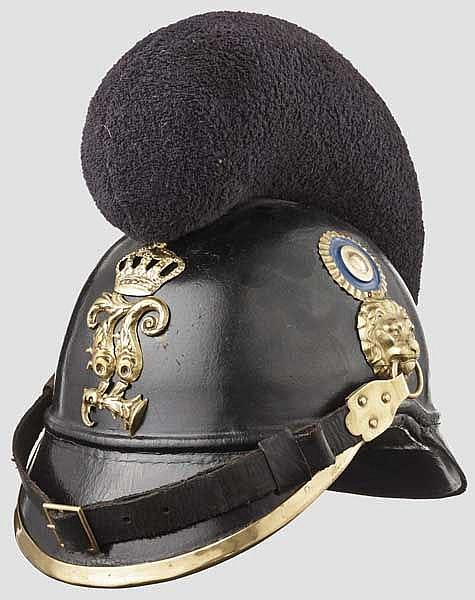 Helm M 1868 für Mannschaften