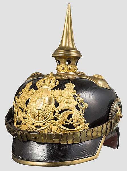 Helm M 1886 für Offiziere der Infanterie