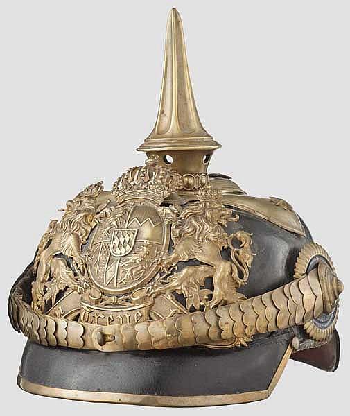 Helm M 1886 für Offiziere