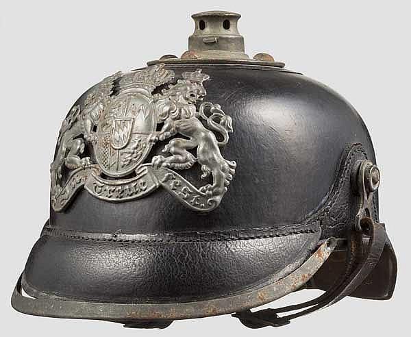 Helm M 1915 für Mannschaften der Artillerie