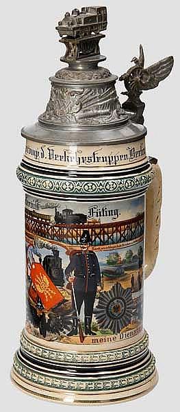 Preußen - 1. Comp./Eisenb. Regt. No II u. Versuchscomp.d. Verkehrstruppen Berlin 1904/06