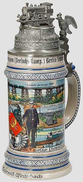 Preußen - Versuchs-Comp./Versuchs-Abteilung der Verkehrstruppen Berlin-Schöneberg 1908/10