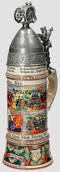 Preußen - 7. Batt./Lehr Rgt. der Feld Art. Schieß-Schule Jüterborg 1912-14