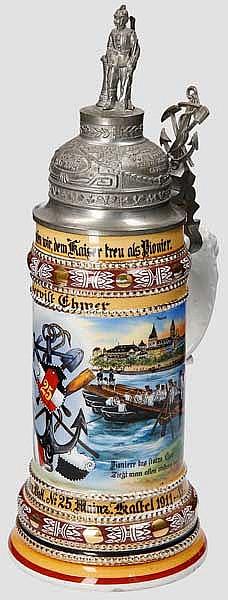 Preußen - 1. Comp./Nass. Pion. Btl. No.25 Mainz Kastel 1911-13