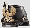 Tschako M 1895 für Mannschaften des Jäger-Bataillons von Neumann (1. Schlesisches) Nr. 5