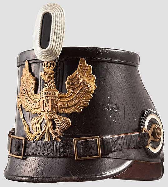 Tschako für Mannschaften der preußischen Jäger-Bataillone