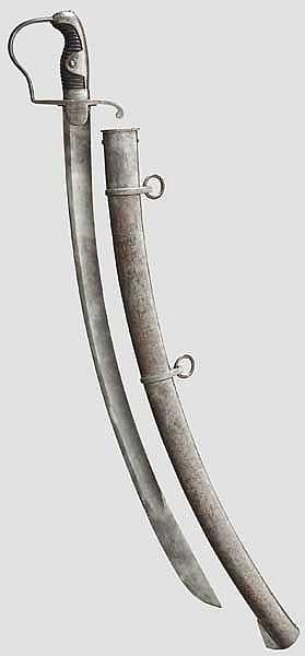 Säbel M 1811 für Mannschaften der leichten Kavallerie, sog.