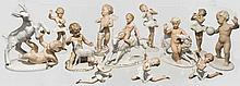 Wallendorfer Porzellan - zwölf Kinderfiguren
