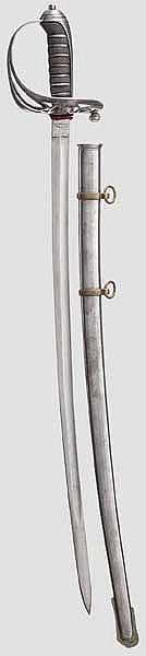 Säbel für Offiziere des Jäger-Bataillons im Infanterie-Regiment Nr. 92