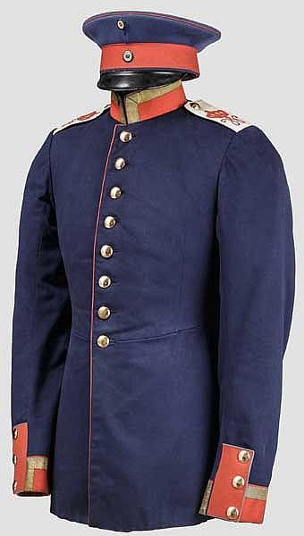 Rock eines Unteroffiziers im Braunschweigischen Infanterie-Regiment Nr. 92