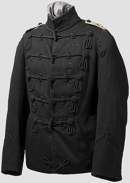 Polrock eines Leutnants im IR 32 vor 1886