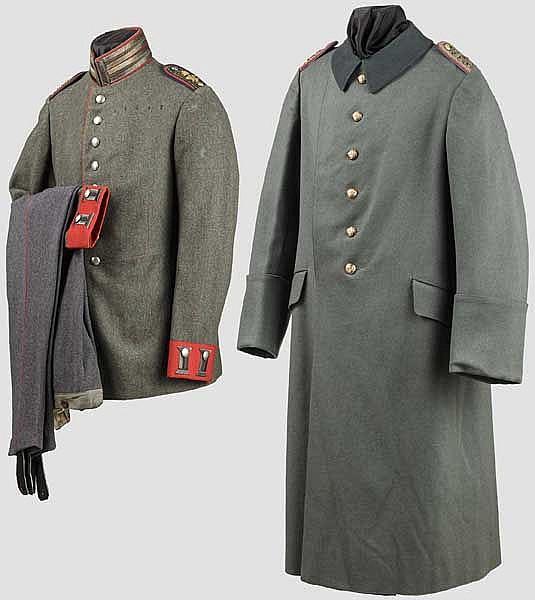 """Friedensuniform M 1915 eines Oberleutnants im 1. Garde-Dragoner-Regiment """"Königin Viktoria von Großbritannien"""