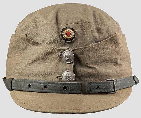Bergmütze für Angehörige der Schneeschuh- und Gebirgstruppen um 1917