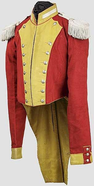 Rock für Mannschaften der Leibgrenadiergarde um 1830