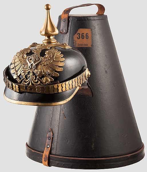 Helm der preußischen Gendarmerie um 1900