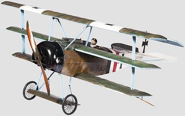 Fokker Dr.1 (V.4) mit Kennzeichen 409/19