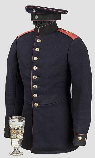 Uniformensemble des Fahrer Ruch - Königlich Bayerisches 9. Feldartillerie-Regiment in Landsberg am Lech
