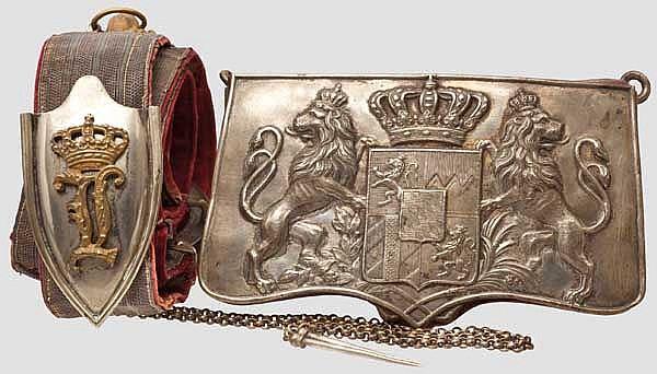 Kartuschkasten für Offiziere 1837/64