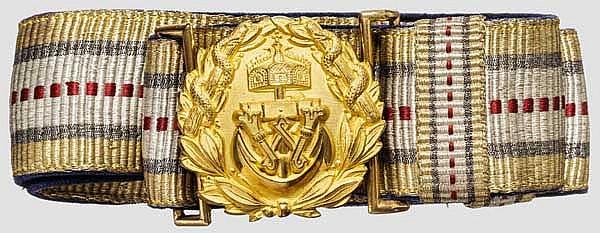 Feldbinde für Ärzte der Kaiserlichen Marine um 1910