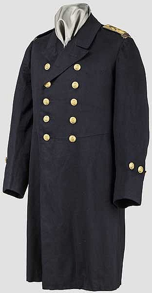 A long service tunic for a Chief Machinist in the Imperial Navy about 1910