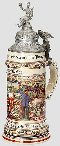 Preußen - 5. Comp./Inft. Regt. v. Wittich (3. Kurhess.) Nr. 83 Cassel 1911-1913