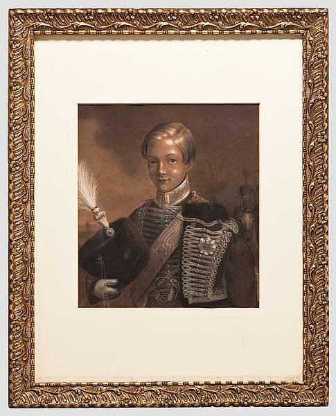 Portrait eines Welfenprinzen, Mitte 19. Jhdt.