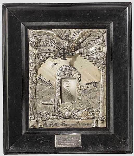 Erinnerungsbild mit Eisernem Kreuz