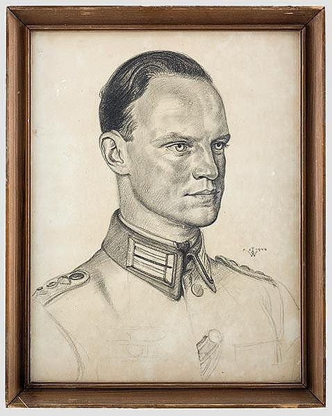 Wolfgang Willrich (1897 - 1948) - Rittmeister Carl Otto Tewaag.
