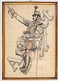 Felician von Myrbach-Rheinfeld (1853 - 1940) - Studie eines Husaren, Felician