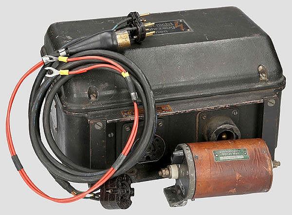 Umformer U80a für 80 Watt-Sender in (Panzer-) Fahrzeugen