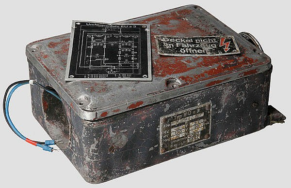 Umformer E.U. a3 für Fahrzeuge