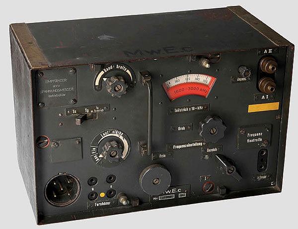 Mittelwellenempfänger - Mw.E.c für die Panzertruppe