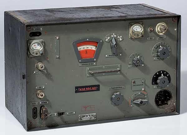 80 Watt-Sender 80 W.S.a für Panzerfahrzeuge