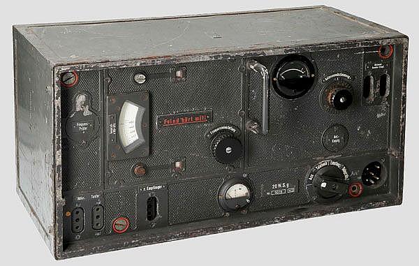 20 Watt-Sender 20 W.S.g für Befehlspanzer