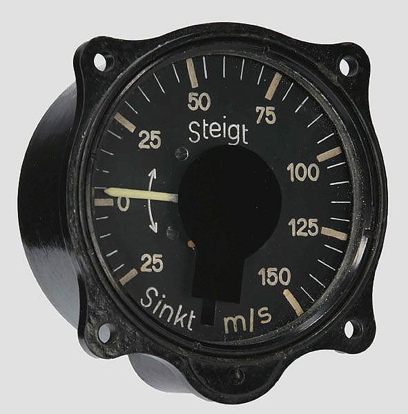 Variometer für den Raketenjäger Messerschmitt Me 163