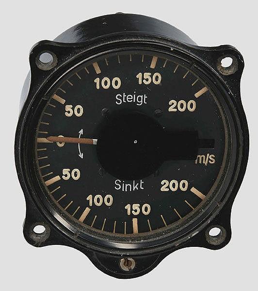 Variometer mit ungewöhnlichem Messbereich