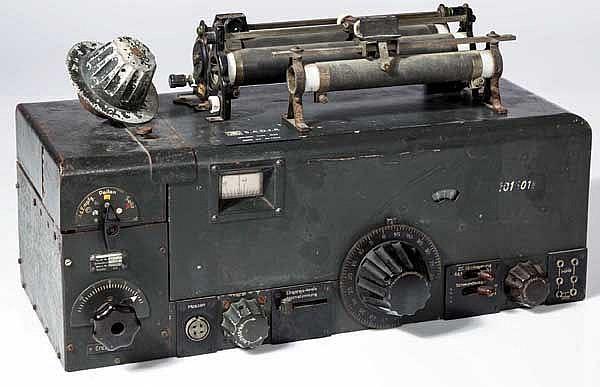 Unbekannter Empfänger, vermutlich für eine Funkpeilanlage Sammlung FuPeil A80c(?)aa