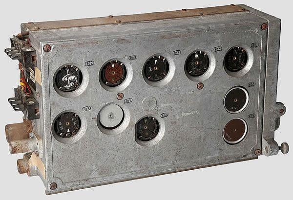 Einsatz PE des Gerätes P, mglw. Kennungsempfänger