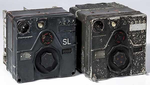 Lang- (S10aL) und Kurzwellensender (S10aK) der Flugzeugfunkanlage 10 (FuG 10)