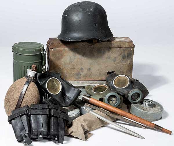 Kleine Ausrüstung-Sammlung