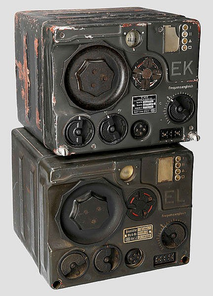 Lang- (E 10 L) und Kurzwellenempfänger (E 10 K) der Flugzeugfunkanlage 10 (FuG 10)